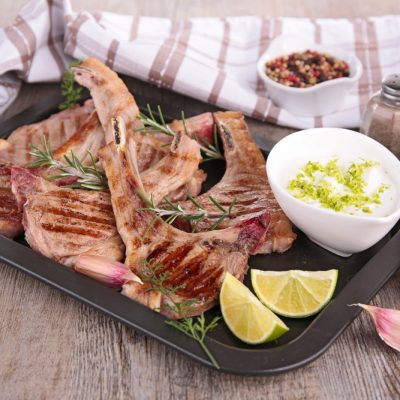 grilled lamb chops