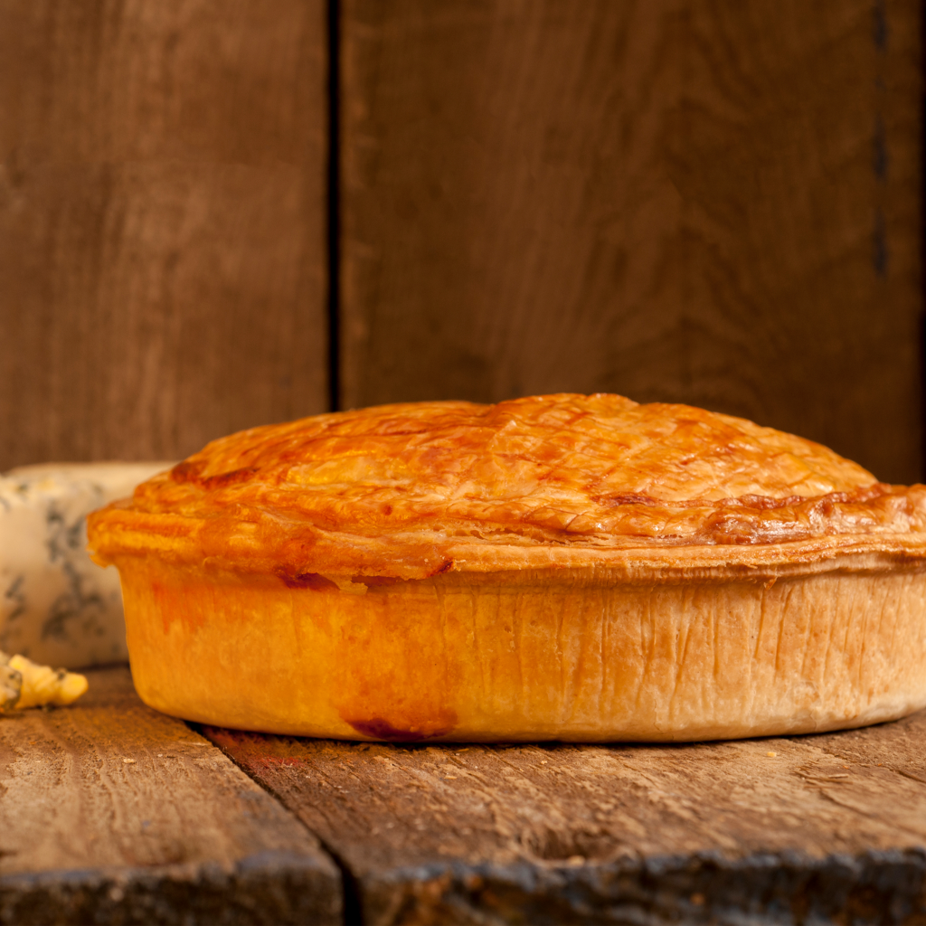 Family - Steak, Cheese and Bacon Pie - Brookside Country Meats